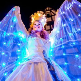 Dream Dancer - LED Stiltwalkers